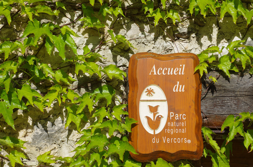 The brand of the Vercors Natural Park
